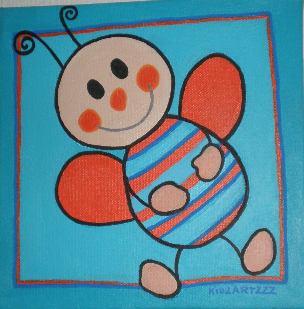 Workshops Geboorte - Kinderkamerkunst maken